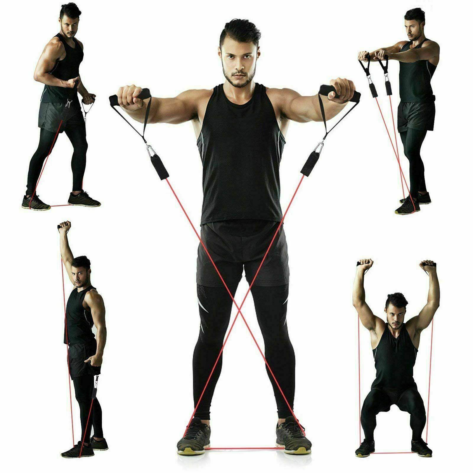 все упражнения с эспандером в картинках спешим поделиться тобой