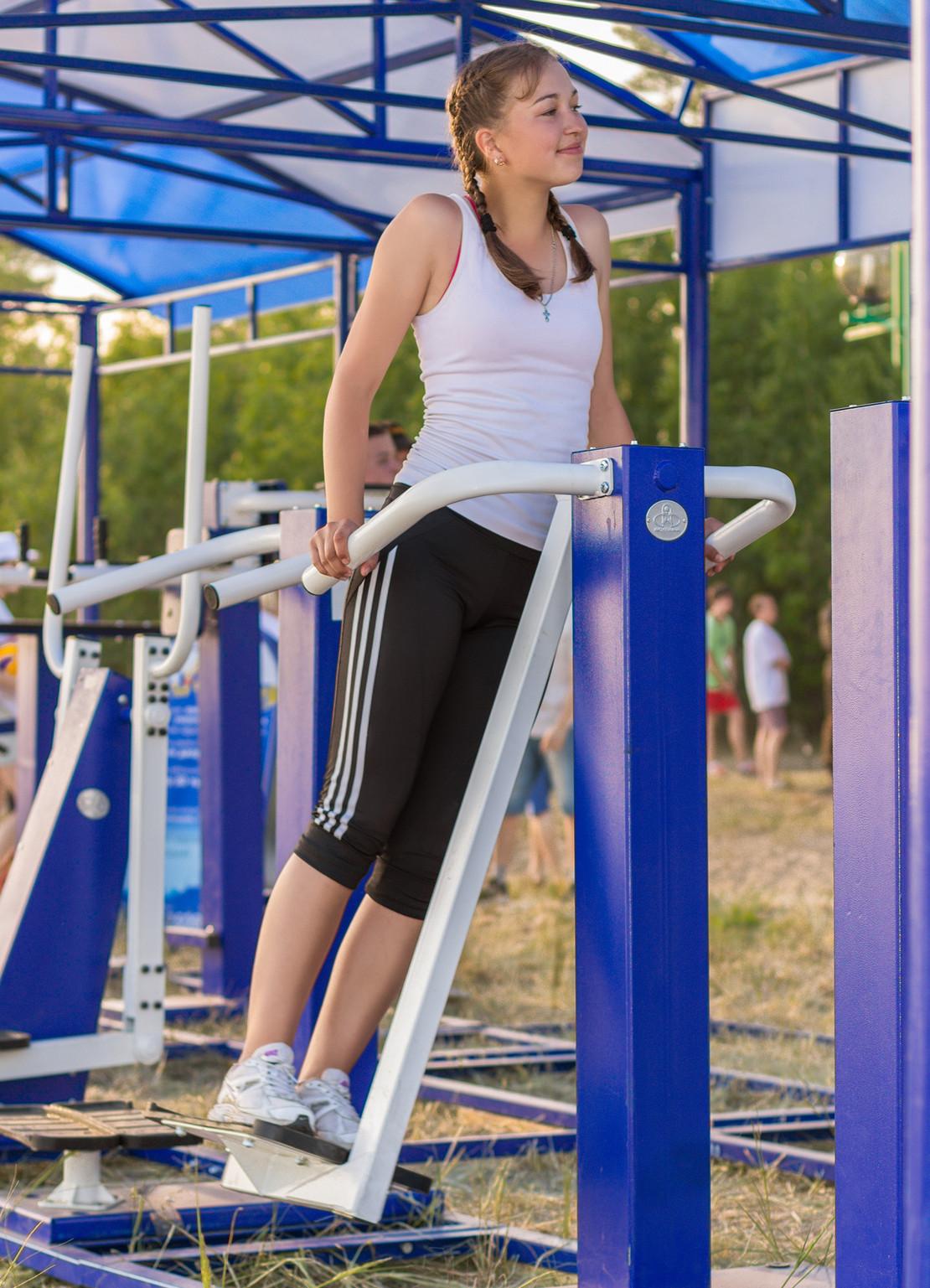 Комплекс упражнений для похудения на уличных тренажерах