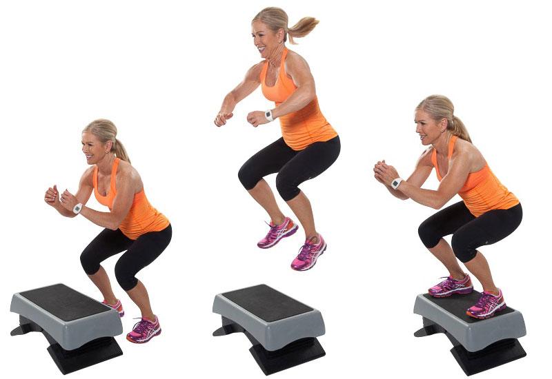 избавиться степ упражнения в картинках обеденный